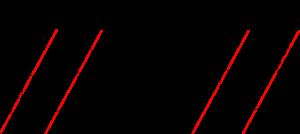 gubbar rött streck