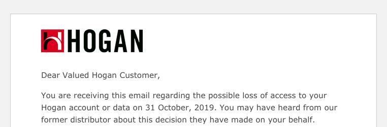 Mejlet ovan har gått ut till våra kunder som använder Hogans tester. Informationen är felaktig och Assessio ber dig att läsa texten nedan.